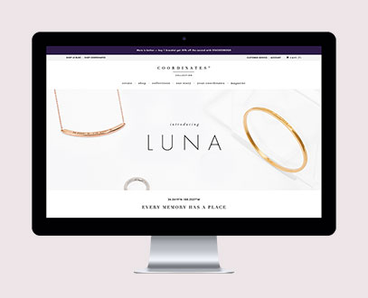 Coordinates Collection Website
